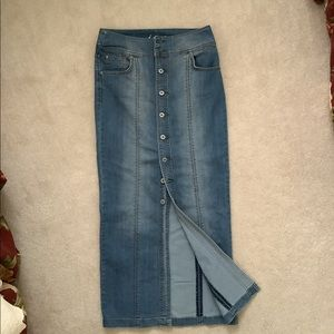 Maxi Jeans / Denim Skirt